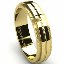 14 Carat Yellow Gold Band Fine Rings