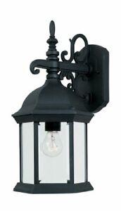 2971BK Devonshire Wall Lanterns Black