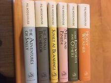 Lot #7 of P.G. Wodehouse Books (6 titles)