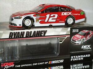 2018 Ryan Blaney #12 DEX IMAGING 1/24 car#655/697 AWESOME RARE must have car