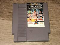 WWF Wrestlemania Steel Cage Challenge Nintendo Nes Cleaned & Tested Authentic
