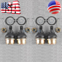 4pcs Upper Ball Joint for Honda TRX350TE ES TRX350TM 2x4 Rancher 350 2000-2006