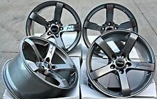 """ALLOY WHEELS 18"""" CRUIZE BLADE GM FIT FOR AUDI TTS COUPE ROADSTER MK2"""