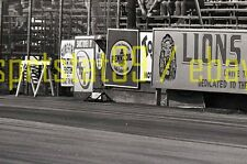 Lions Drag Strip - Track Advertising Signs - Vintage 35mm Race Negative