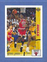 1991-92 Upper Deck MICHAEL JORDAN CHICAGO BULLS #44 GEM MINT & CENTERED! RARE!