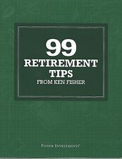 Fisher Investments 99 Retirement Tips from Ken Fisher, New, Rare, and Cool!