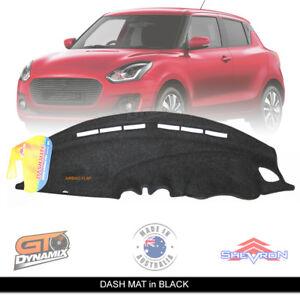 DASH MAT Suzuki Swift AZ Suits GL Navigator GLX Turbo 5/2017-2021 DM1471 BLACK