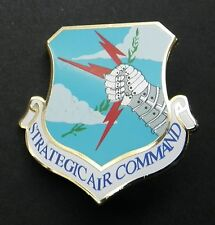Strategic Air Command US Air Force Cap Hat Jacket Light Pin USAF 1.5 inches