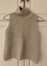 Vince Sleeveless Cashmere Blend Turtleneck Sweater Vest - Size XS