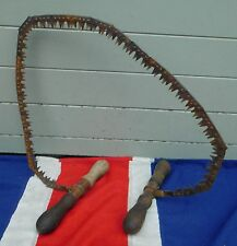 ANTIQUE WORLD AR ONE ARMY TRENCH SAW MILITARY MILITARIA FLANDERS