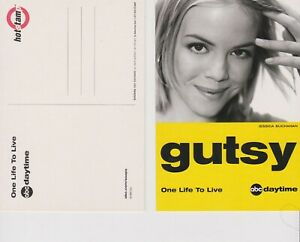 "One Life To Live Jessica Buchanan ""Gutsy"" 2003 Promo 4"" x 6"" postcard"