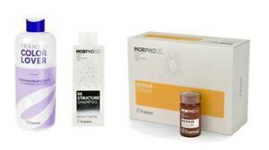 Italian Hair Care Restructure /Colour Protection & Volume Shampoo / Repair Serum
