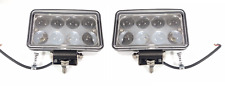 "Pair 6"" Off-Road Projector LED Work Driving Light Bar Spot Fog Lamp Truck Jeep"