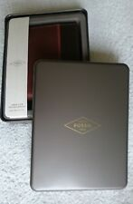 FOSSIL,Wallet,Large Coin,Pocket Bifold in The Box,,Brown,Genuine Leather,Men's