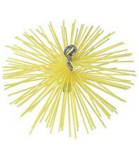 Hérisson de ramonage rond en nylon diamètre 250 mm pour canne de ramonage