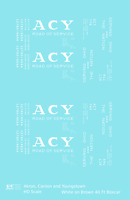 K4 HO Decals Akron Canton and Youngstown 40 Ft Boxcar Big White ACY