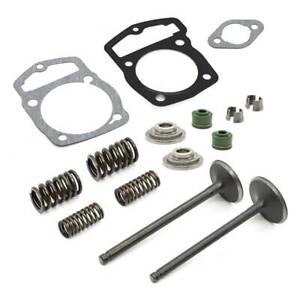Cylinder Head Gasket Intake Exhaust Valve Kit For Honda CRF230F CRF230L CRF230M