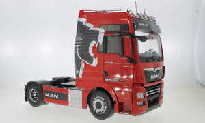 MAN TGX XXL metallic rot red 2018 LKW Truck Zugmaschine PCL 1/500 RIESIG 1:18