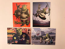 PROMO CARD SET: SHREK 2 Comic Images 2003 WAL-MART EXPO (#WM-p1 - #WM-p3) + NO#