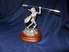 "Michael Boyett ""Mandan Buffalo Dancer""Limited Edition Pewter Figurine SIGNED"