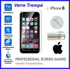 IPHONE 6 , 6S Tempered Glass Vitre de protection d'écran en VERRE TREMPE