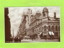 Palace Theatre Oxford Street Manchester Tram RP pc used 1928 Ref F92