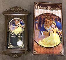 Disney Beauty And The Beast - Belle Pendulum Clock - 42cm - Genuine - BNIB