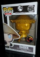 Mortal Kombat X GOLD Raiden Pop Vinyl Figure Funko Rare