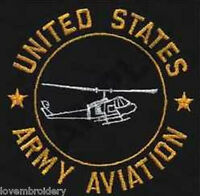US ARMY AVIATION ARMY USMC AIR FORCE MILITARY Custom Embroidered Polo Shirt