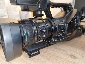 Sony PMW-EX3 camera - including 2 x Protech V-Lock adapter & Portabrace bag