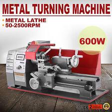 Metal Mini Motorized Lathe Machine Woodworking DIY Power Tool Modelmaking1