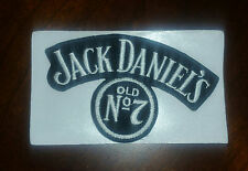 JACK DANIELS Old #7 Whiskey PATCH - Embroidered Sew on / Stick on - NEW