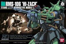 Bandai Hguc 1/144 Rms-106 Hi-Zack Plastic Model Kit Mobile Suit Z Gundam Japan