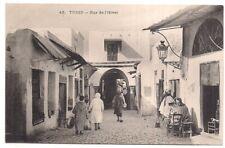 tunis, rue de l'hiver