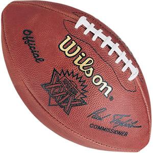 SUPER BOWL XXIX 29 Authentic Wilson NFL Game Football - SAN FRANCISCO 49ers