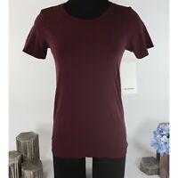 Lululemon Garnet Swiftly Relaxed Athletica Short Sleeve T-Shirt Top Sz 8 NWT