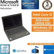 "Lenovo Thinkpad X260, Core i5-6200u 2.3GHz, 8GB, 240GB SSD 12.5"" Laptop Deutsch"
