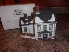Dept 56 New England Village J.Mullet Farm House & 8 animals accessory