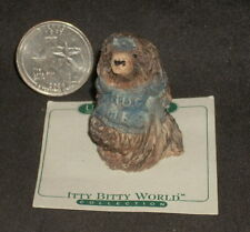 Porcupine wearing Hug Me Shirt Ok as Decor 1:12 Miniature or Collectable Last