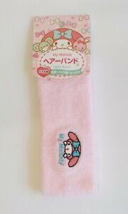 My Melody Head Band SANRIO Cute Embroidery Kawaii