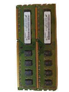 MICRON 8GB 2RX8 PC3 10600U 9-11-B0 MT16JTF51264AZ-1G4D1