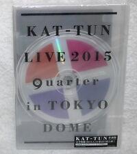 "KAT-TUN LIVE 2015 ""quarter"" in TOKYO Taiwan 2-DVD+16P (w/Shuffle 5.9 Ver.)"