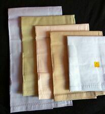 """10 Premium Large Cotton Hankies Handkerchiefs Gift Idea Hanky for Men 18""""x18"""" in"""