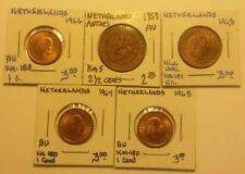 Lot of (51) Different Beautiful Coins from Netherlands