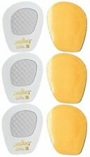 Pedag Get A Grip Girl Forefoot Pads, White Leather, Pack of 3