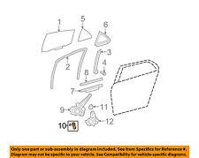 Toyota Oem 09-11 Yaris Glass-Rear Door-Window Crank Handle 6926052070E1