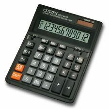 Citizen Ct-666n 12 Digits Black Office Desktop Calculator Business Pro Line
