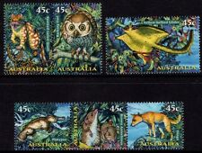 1997  45c CREATURES OF THE NIGHT MINT UNHINGED SET OF 6
