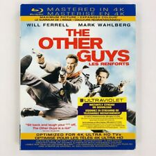 The Other Guys - Will Ferrell Mark Wahlberg (Blu-ray, Mastered in 4K, Slipcover)