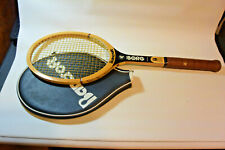 PERSONAL Tournament Used by BJORN BORG BANCROFT WOOD TENNIS Racquet USA NM